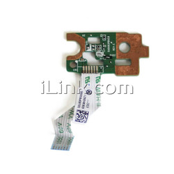 плата кнопки включения POWER ON BUTTON BOARD HP 15-N / 15-N006SR / DA0U83PB6E0 с разбора