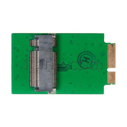 Адаптер - переходник SSD - M.2(NGFF) SSD для Apple MacBook Air 11 13 A1370 A1369, Late 2010 Mid 2011 (6+12Pin) small / AIRSSD2011