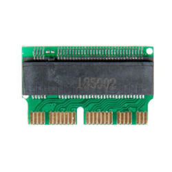 Переходник SSD M.2 (NGFF) PCI-E Для Macbook, iMac, Mac mini 2013-2017 годов. MacBook Pro Retina 13'', 15'' Late 2013-2015 (A1502 / A1398) MacBook Air 11'', 13'', mid 2013-2017 (A1465 / A1466